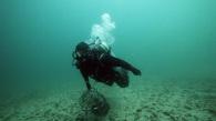 Jamie underwater